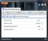 Word Password Recovery Lastic screenshot