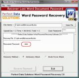 Word Password Unlocker Software screenshot