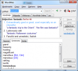 WordWeb screenshot