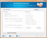 WowTron PDF Encryption screenshot