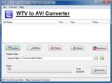 WTV to AVI Converter screenshot
