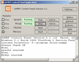 XAMPP Portable screenshot
