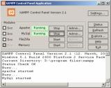 XAMPP Portable screenshot