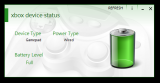XBox Device Status screenshot