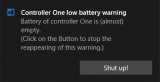 XBox One Controller Battery Indicator screenshot