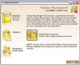 Yahoo Messenger Password screenshot