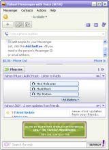 Yahoo! Messenger screenshot